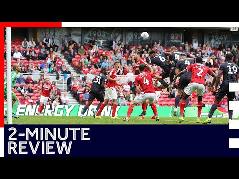2-minute review   Middlesbrough 1-0 Reading   Sky Bet Championship   14th September 2019