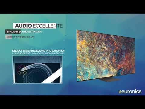 "SAMSUNGTV Neo QLED 4K 55"" QE55QN95A Smart TV Wi-Fi 2021Carbon Silver"