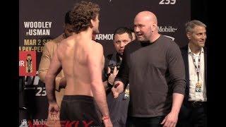 Ben Askren Confronts Dana White At UFC 235 Ceremonial Weigh Ins
