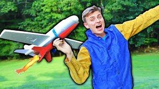 ROCKET POWERED AIRPLANE!!