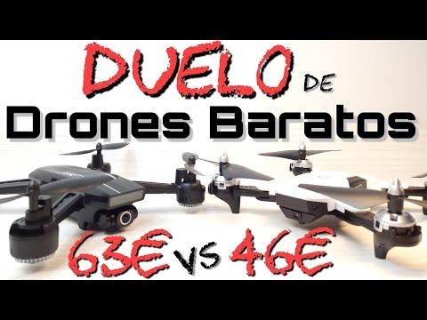 DUELO de DRONES BARATOS: CSRC CS7 vs JJRC H86, ¿QUIÉN GANARÁ?