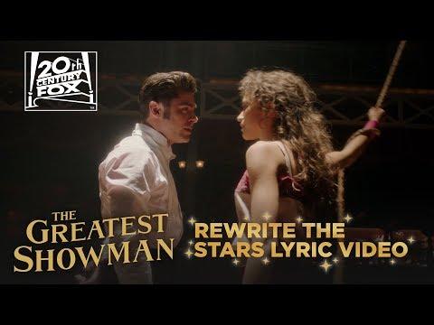 "The Greatest Showman | ""Rewrite The Stars"" Lyric Video | Fox Family Entertainment"