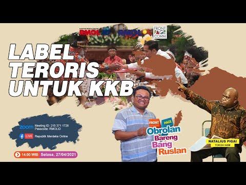 Obrolan Bareng Bang Ruslan • Label Teroris Untuk KKB