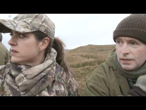 Pam Zaitz hunts deer in England