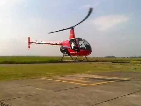 Vuelo Helicóptero Robinson 22 Beta II Escuela de Aviación del Pacífico Ltda.