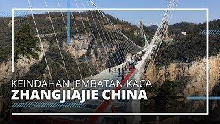 Keindahan Zhangjiajie Glass Bridge, Jembatan Kaca Terpanjang dan Tertinggi di Dunia