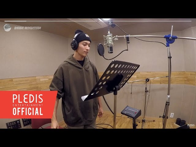 [INSIDE SEVENTEEN] SEVENTEEN 'SWEETEST THING' (Chocolate OST) Recording Behind