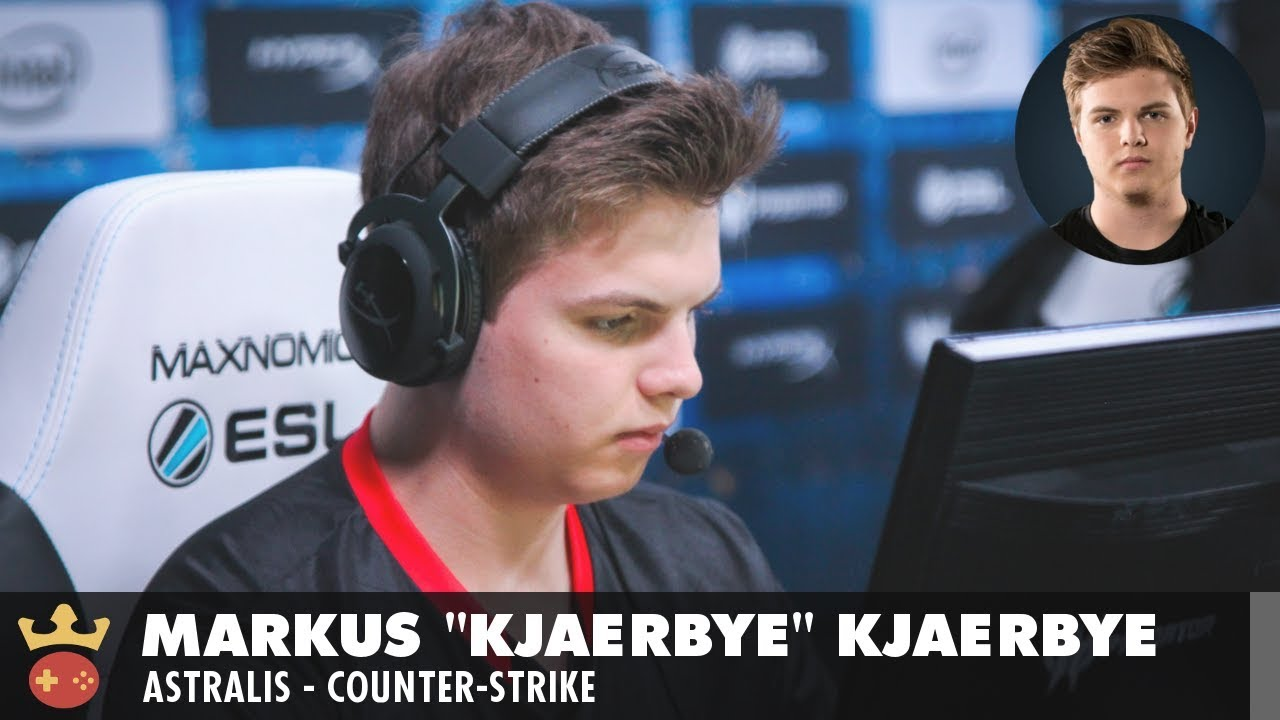 Video of Interview with Astralis's kjaerbye at IEM Sydney