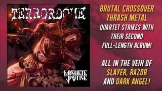 Terrordome - Back to the '80s - NEW ALBUM 'Machete Justice' 2015