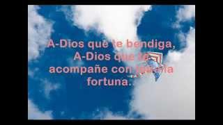 Abel Pintos . A-Dios (Letra)