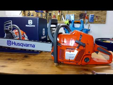 Husqvarna 372xp with 385xp-390xp carburetor - смотреть