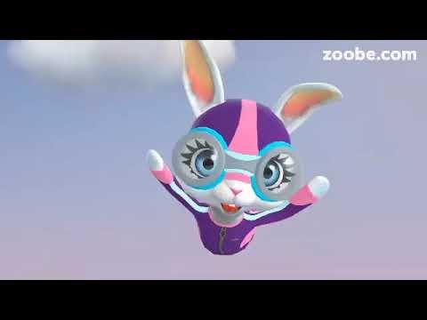 Zoobe Зайка- хорошое поздравления с Пасхой