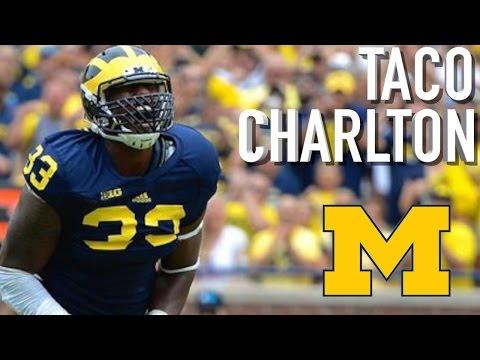 "Taco Charlton || ""MONSTER"" || Michigan Highlights"