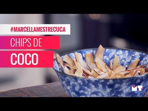 CHIPS DE COCO - RECEITA FÁCIL