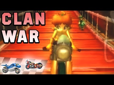 Mario Kart Wii Vehicle War: Dolphin Dasher vs Sneakster (150cc)