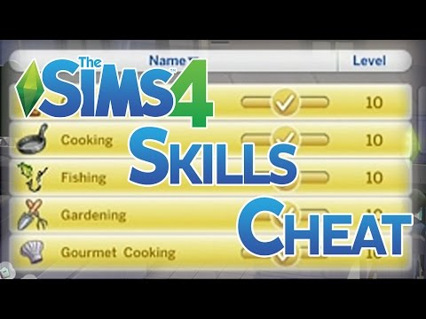 Level up Skills Cheat — The Sims Forums