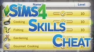 The Sims 4 Level Up Skills Cheat