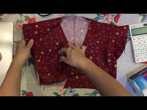 KR056 (KR056 - Yukata dress vạt xéo)