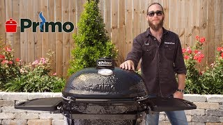 Primo Oval XL Charcoal Kamado Grill Review | BBQGuys.com