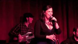 "Lindsay Mendez of Limbsakimbo performing ""Conversation"" by Joni Mitchell"