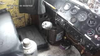 Видео-урок управления трактором К-700А. Часть 1.