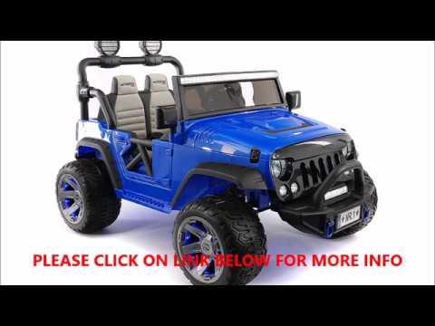 MODERNO KIDS  Explorer 2 Seater 12V Power Children RIDE-ON CAR Truck
