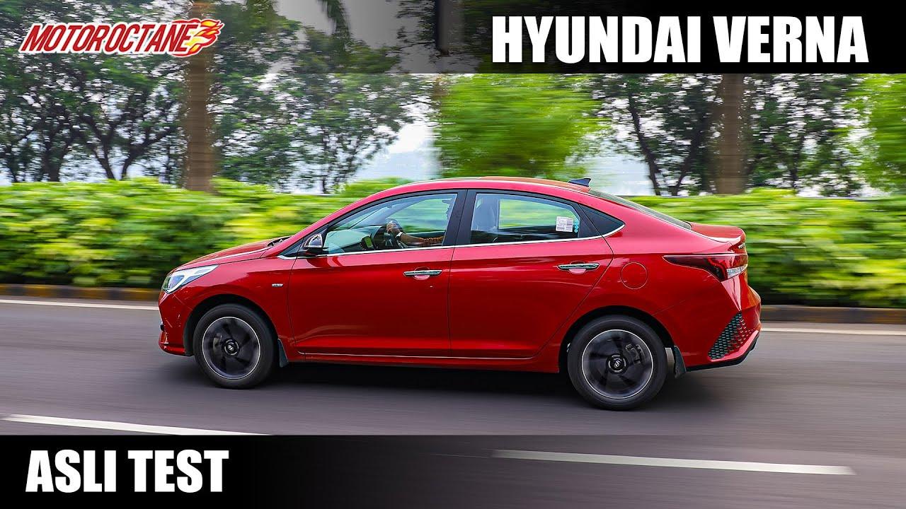 Motoroctane Youtube Video - Hyundai Verna Asli Test - Looks plus practicality?