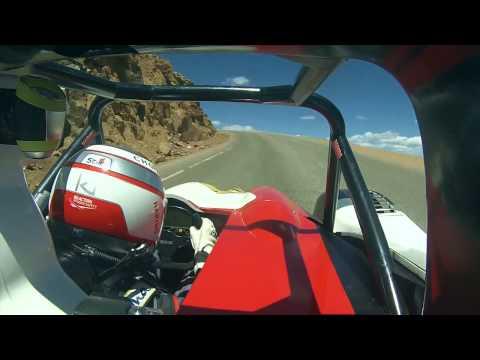Pikes Peak 2014 Winner : Romain Dumas Onboard