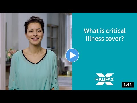 A video about critical illness cover.