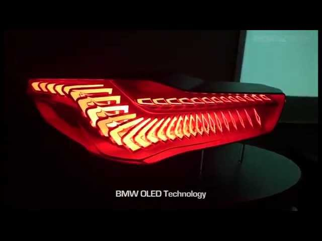 BMW unveils OLED lighting systems that could change power usage