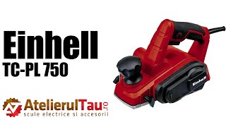 Einhell TC-PL 750 - Rindea electrica, 750 W, 82 mm - Prezentare&Test in sarcina