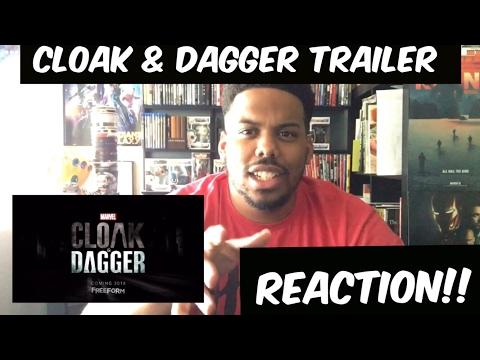 Marvel's Cloak and Dagger Trailer Reaction!