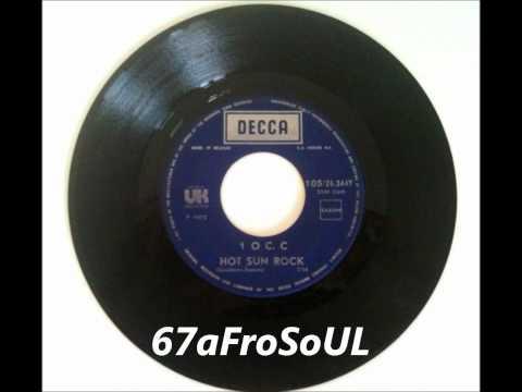"✿  10C. C - ""Hot Sun Rock"" (1972) ✿"