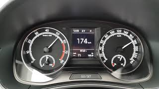 2018 Škoda Fabia 1.0 TSI 81 KW (FL): Acceleration 0   186 Kmh