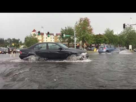 Video Flash Flood 2016- Lynnwood, Wa