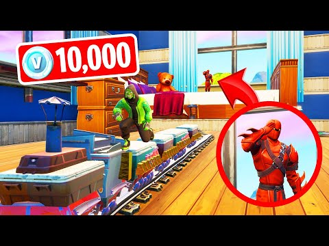 DON'T Get CAUGHT In HIDE & SEEK To Win 10,000 V-BUCKS! (Fortnite)