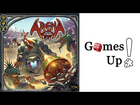 Arena: For the Gods! - Let's Play and Review