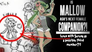 Mallow  - (Pokémon) - ☆IS MALLOW ASH'S NEXT COMPANION?! (even with SERENA?!) // Pokemon Sun & Moon Discussion/Theory☆