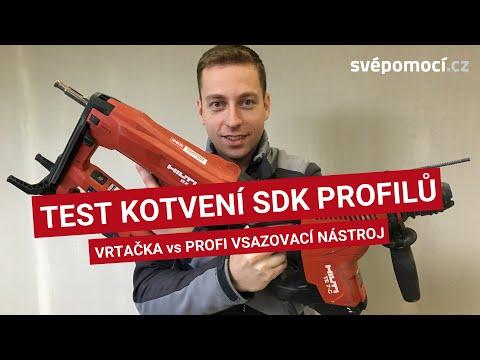 """Upevňování SDK profilů s """"hřebíkovačem"""" a bez něj"""