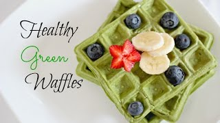 waffle batter with almond flour