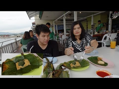 seafood บนเขาสามมุข ชมวิวทะเล โดโด้กินห่อหมกครั้งแรกในชีวิต Khao Sammuk