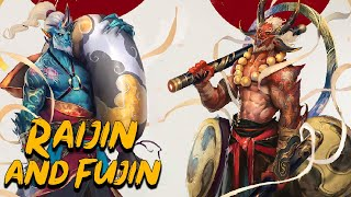 Raijin and Fujin: The Gods of Lightning and Wind - Japanese Mythology - See U in History