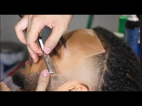 FULL LENGTH TAPERED DREADS HAIRCUT TUTORIAL HD !