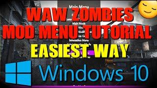 COD WAW Zombies Mod Menu PC Tutorial [Windows 10]