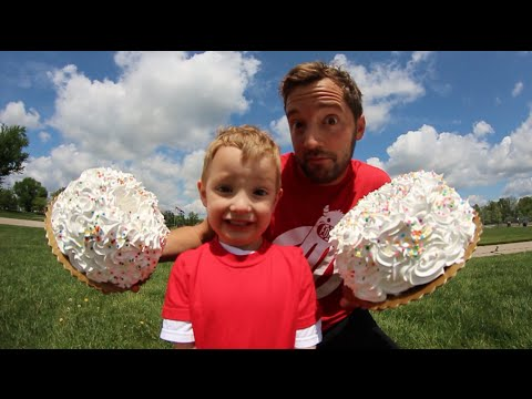 Dad DOUBLE Cakes 4 Year Old In The Face!?