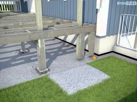 Bygg en terasse   byggeprosjekt   velkommen til byggmax!
