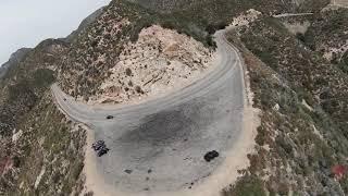 DJI FPV DRONE VS RACE BIKE & PORSHE TURBO