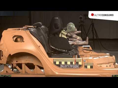 Seggiolini auto: Recaro Optia e Janè Grand bocciati nel crash test