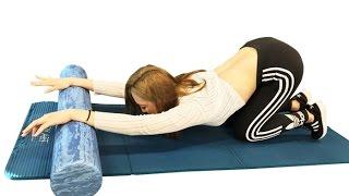 18회 폼롤러를 이용한 유사라의 다이어트 운동법