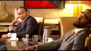 Jamie Foxx's Cleveland A. Smith Finally Meets Stephen A. Smith